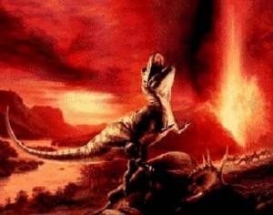 25392550 volcanoes killed 300x236 Энциклопедия динозавров 5