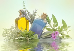 aromaterapija 300x209 Бутылки с пробками