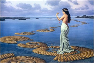 michael whelan spiralsshells sea shell  med 300x201 Окаменелости: страсть по древнему