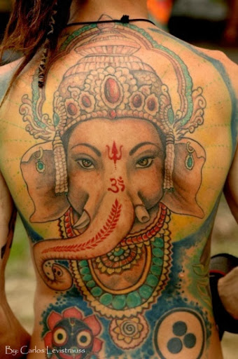 ganesha tattoo design Татуировки: бог Ганеша