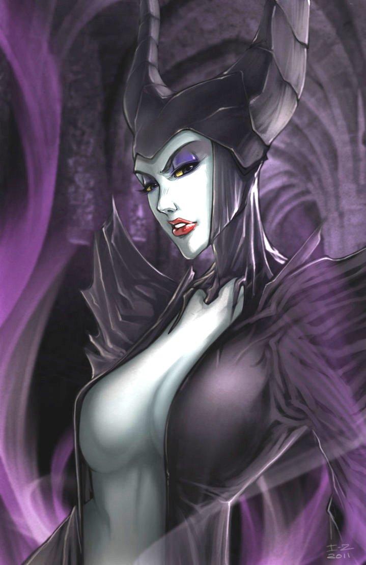 maleficent by irving zero d49dl84 Малефисента: прекрасная злодейка